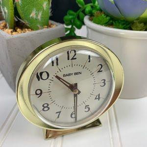 🌵 Vintage Baby Ben Wind Up Alarm Clock